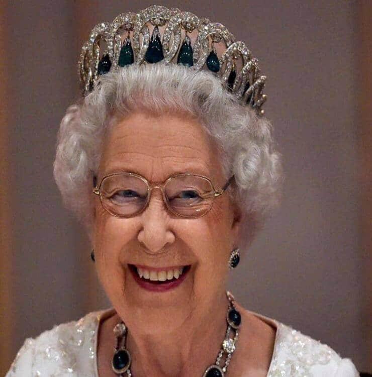 Regina Elisabetta (Screen Facebook)