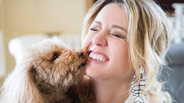 Elena Barolo e cane Whisky