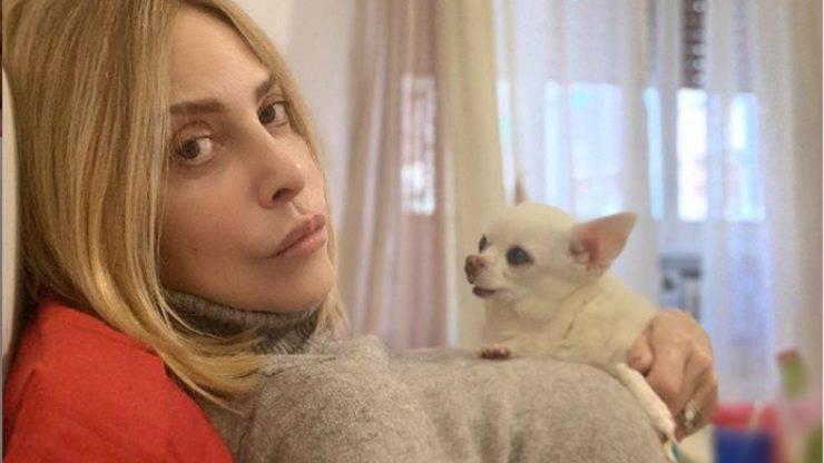 Stefania Orlando e il cane Margot