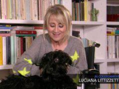 Luciana Littizzetto cane