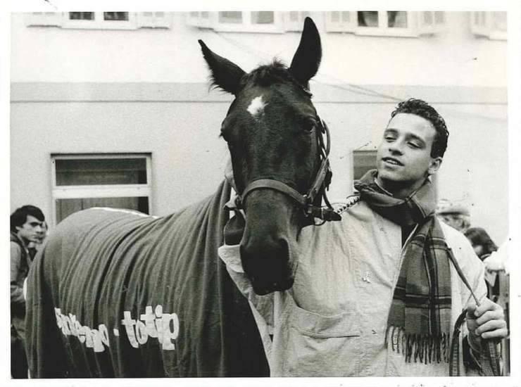 Eros Ramazzotti cavallo