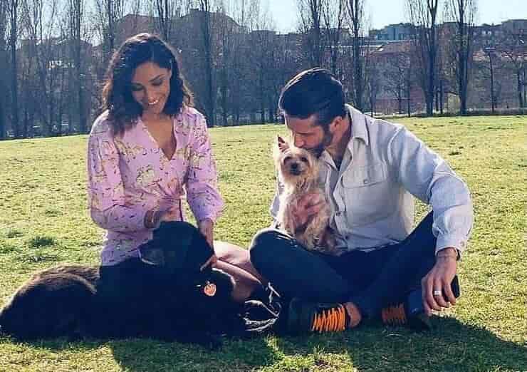 Edoardo Stoppa e Juliana Moreira (Screen Instagram)