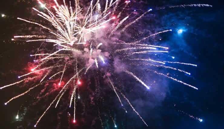 Fuochi d'artificio (Pixabay)