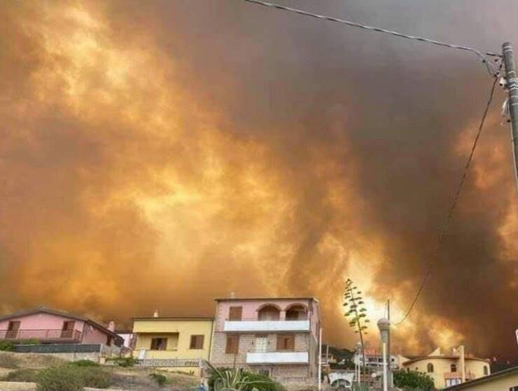 Incendi Sardegna (Screen Facebook)