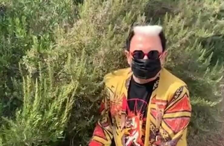 Cristiano Malgioglio (Screen video)