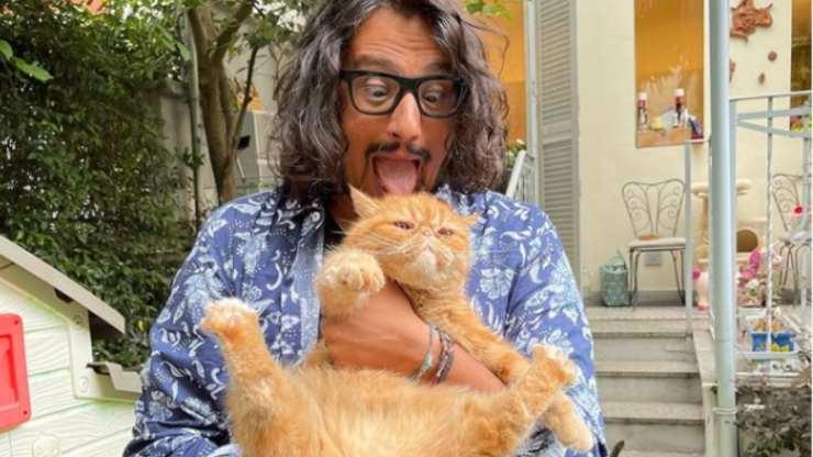 Alessandro Borghese e il gatto Tokyo