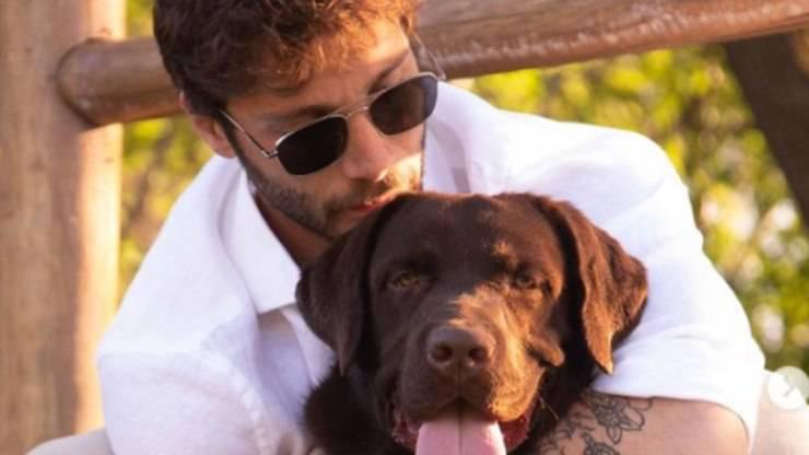 Stefano De Martino: chi è il suo cane Choco