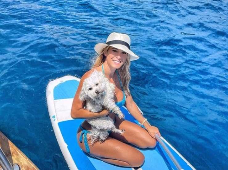 Diletta Leotta: chi è il cane Brando