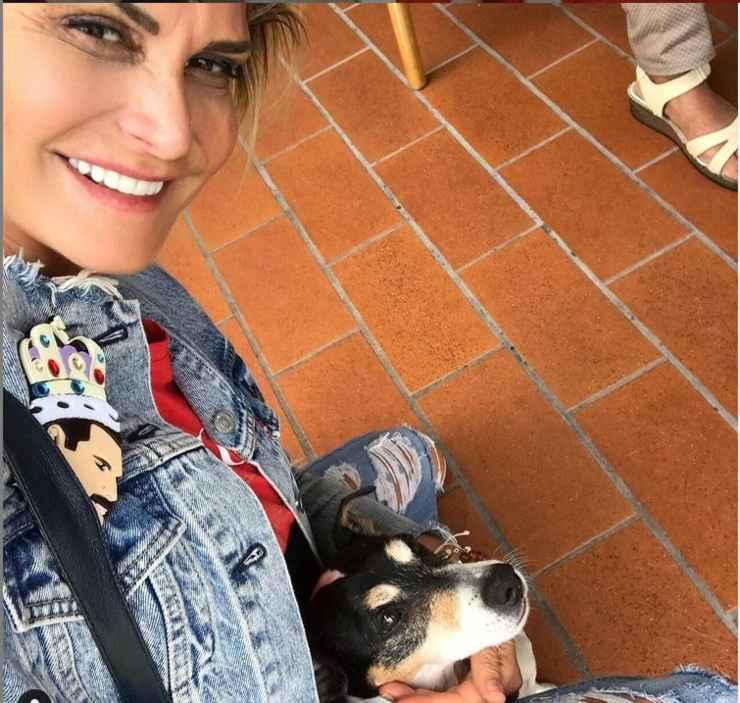 Simona Ventura: chi è il cane Hugo