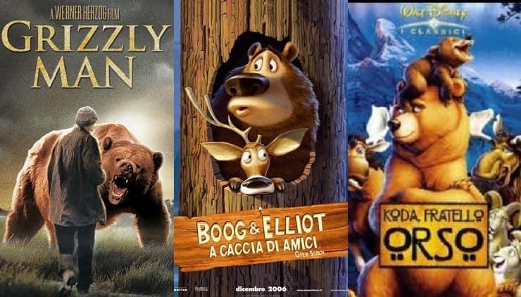 documentari con orsi