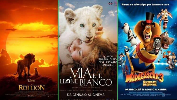 Cartoni e film con leoni