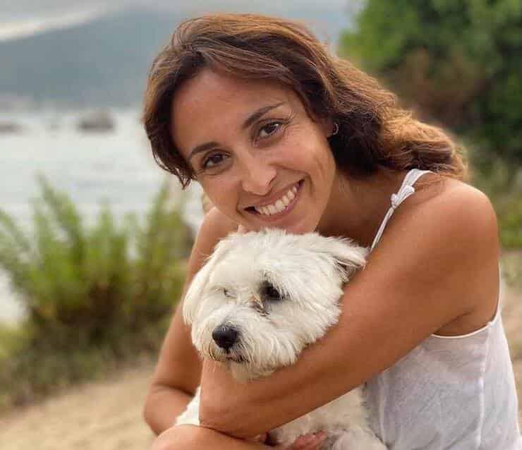 Benedetta Parodi e il suo Snoopy (Screen Instagram)