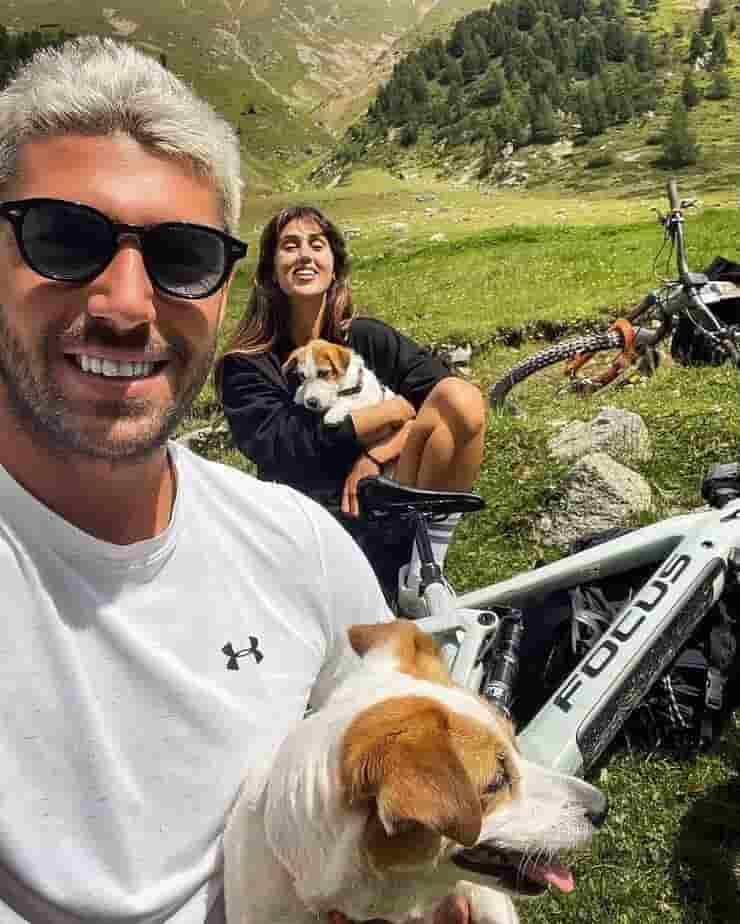 Cecilia Rodriguez e Ignazio Moser in vacanza con i loro cuccioli (Screen Instagram)