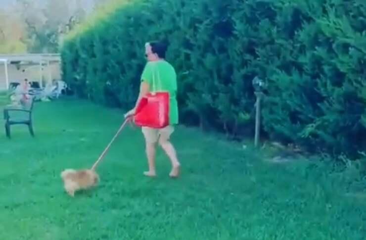 Cristino Malgioglio e Daddy ( Screen Video)