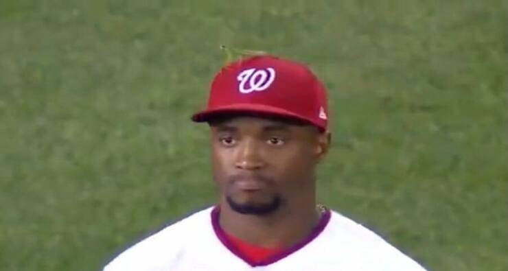 Victor Robles (Screen video Twitter)