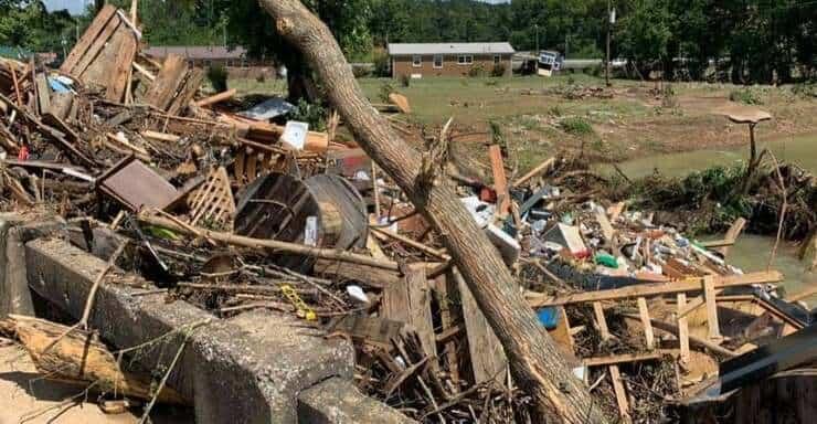 alluvione in Tennessee