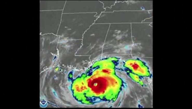 L'uragano Ida (screen Video)