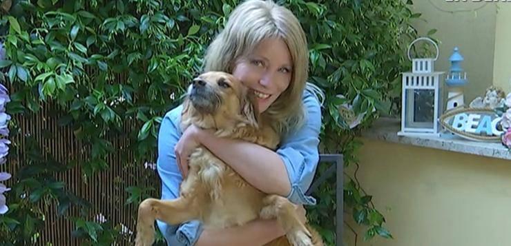 Flavia Vento e i suoi cani