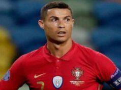 Cristiano Ronaldo sorpreso (Foto Instagram)
