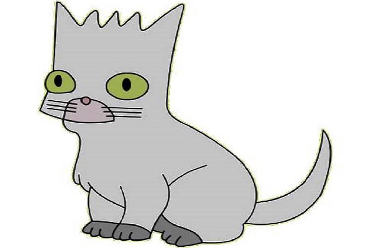 gatto dei simpson
