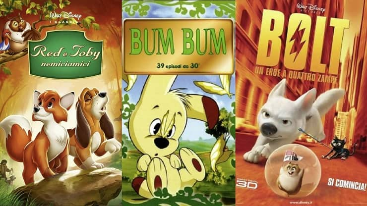 cartoni animati con cani