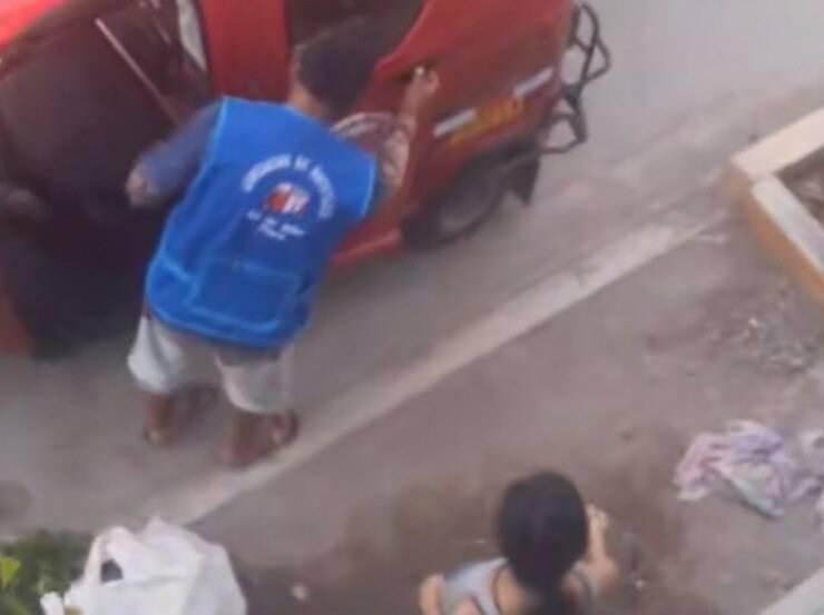 Cucciolo torna in taxi (Screen video)