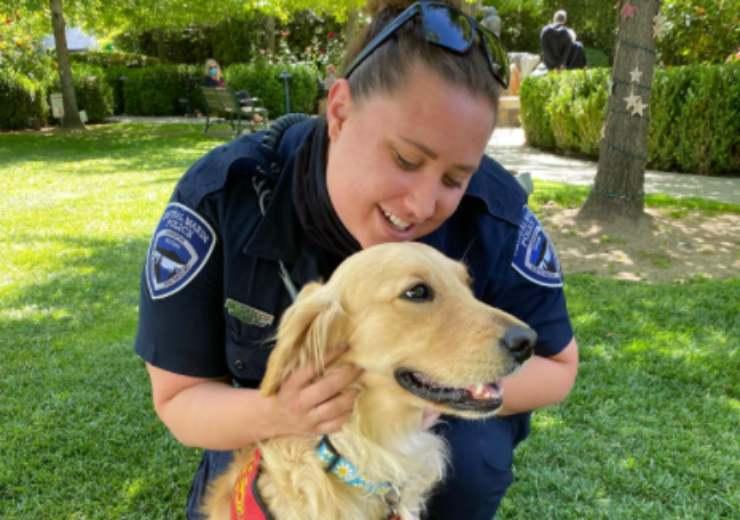 Kerith, la prima cagnolina a sostegno dei vigili del fuoco
