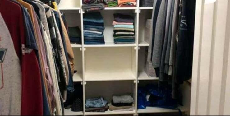 La sfida più difficile che vedrai oggi! Trova il gatto nascosto nell'armadio