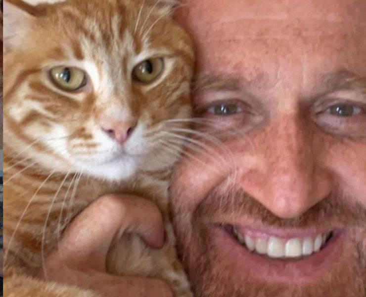 Rudy Zerbi gatto