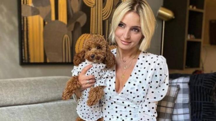 Veronica Peparini e il suo cane