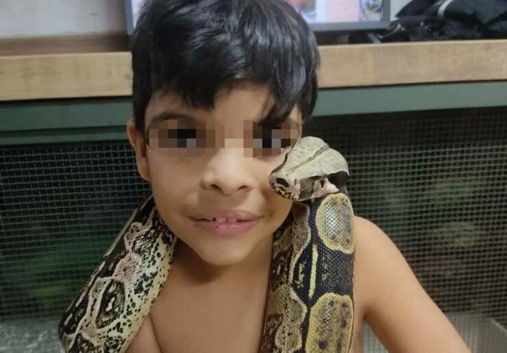 Il figlio di Djalma Monteiro (Foto Facebook)