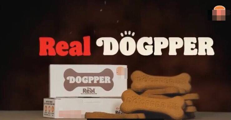 Menù per cani noto Fast Food (Screen video)